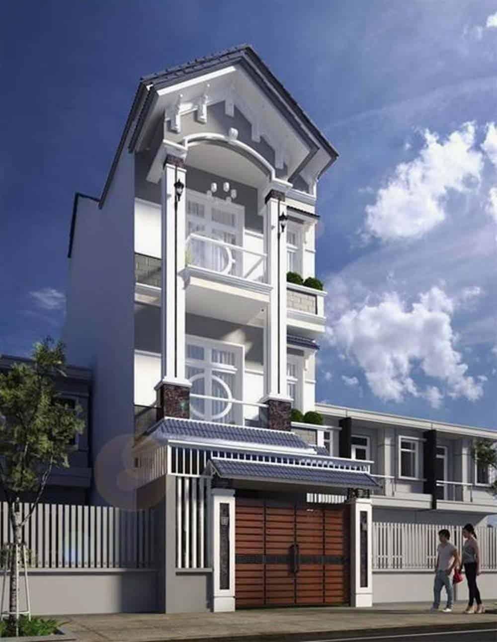 Mẫu nhà phố siêu đẹp và đẳng cấp