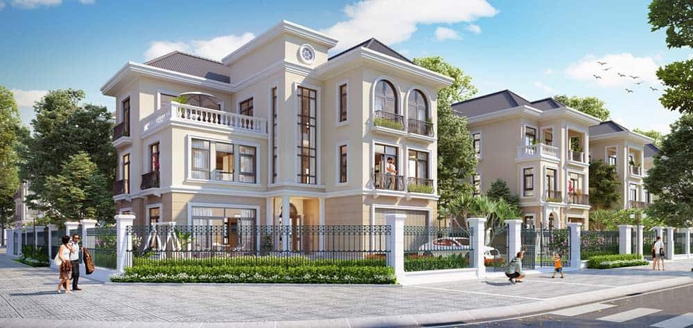 Thiết kế nhà mái thái đẳng cấp theo phong cách hiện đại