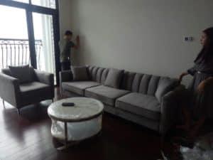Ghế Sofa Văng Dài| Bàn Giao Cho Cô Mai Chung Cư Royal City