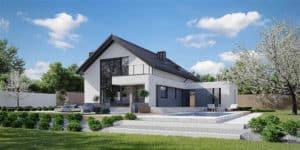 Mẫu thiết kế nhà đẹp theo phong cách hiện đại