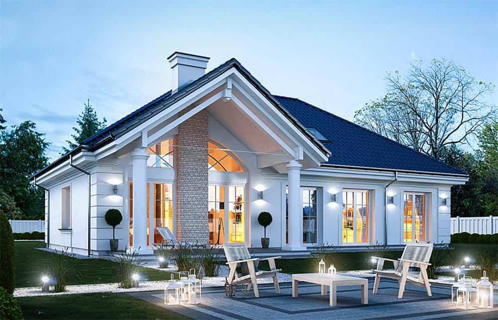 Nhà mái thái 1 tầng sang trọng và đẳng cấp
