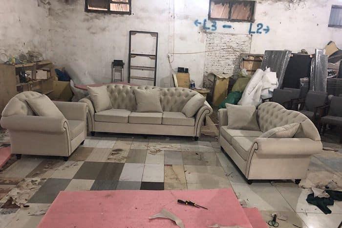 Bộ Sofa Tân Cổ Điển  Bàn Giao Sofa Cho Anh Hải Hưng Yên