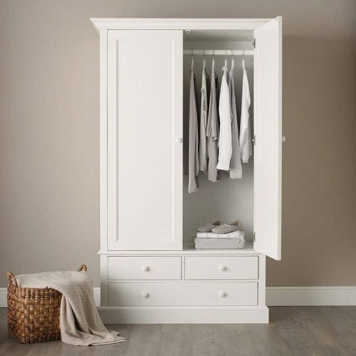 Kích thước chuẩn tủ quần áo chuẩn