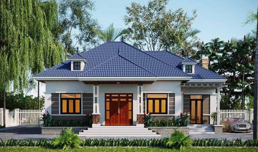 Kiến trúc, màu sắc phần mái châu Âu cùng kiến trúc sang trọng
