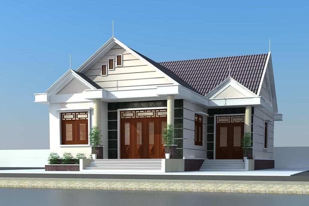 Mẫu Nhà Cấp 4 120m2 3 Phòng Ngủ 1 Thờ Đẹp Nhất Năm