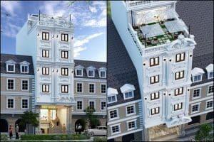 Nhà 7 Tầng Có Thang Máy |Xây Nhà 7 Tầng Hết Bao Nhiêu?