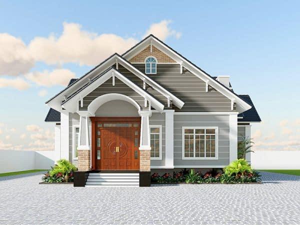 Nhà Cấp 4 8x12 | 9+ Mẫu Nhà Cấp 4 96m2 Đẹp Và Sang Trọng