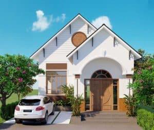 Thiết kế nhà đầy tiện nghi phong cách châu Âu