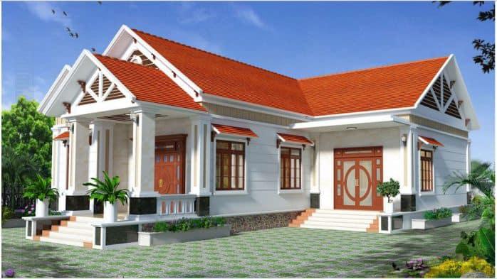 Nhà Mái Thái 1 Tầng 150m2 | Tổng Hợp Những Mẫu Hot 2020
