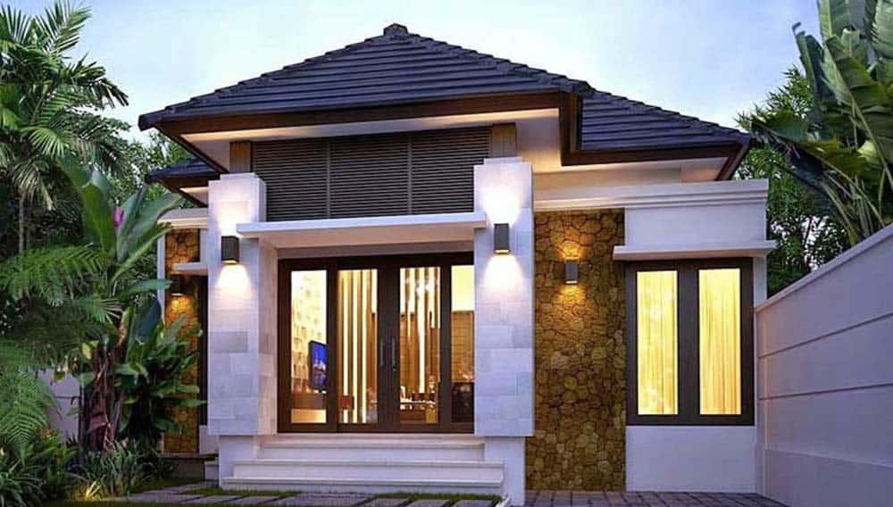 Thiết kế nhà mái thái đẹp mặt tiền 5m