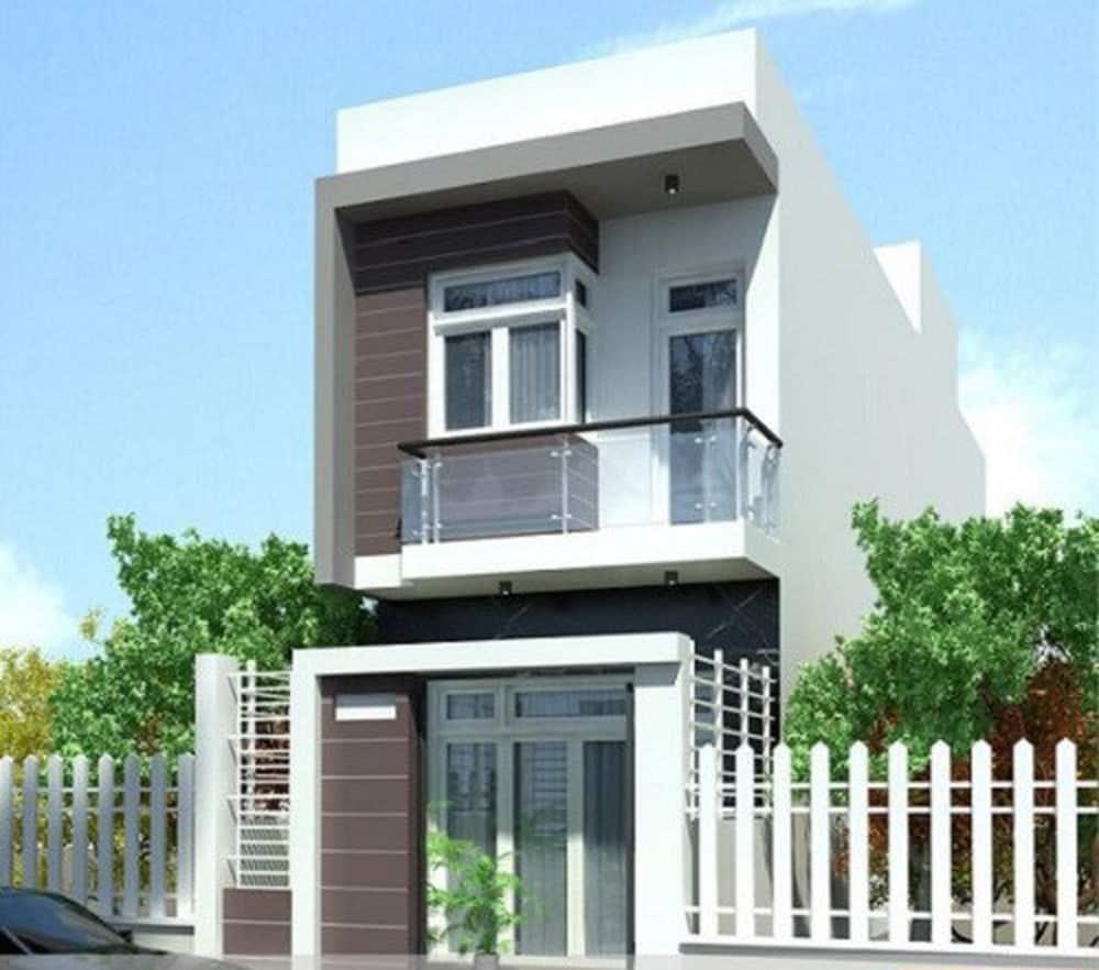 Nhà 2 tầng mái bằng công năng
