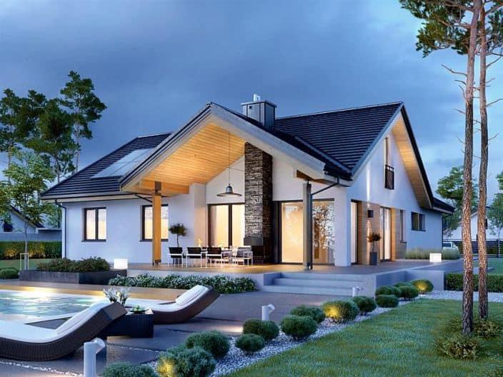vila thiết kế hiện đại