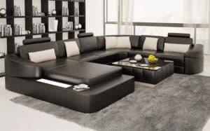 Sofa Chữ U Hiện Đại | 10+Mẫu Sofa Chữ U Đẹp Và Sang Trọng