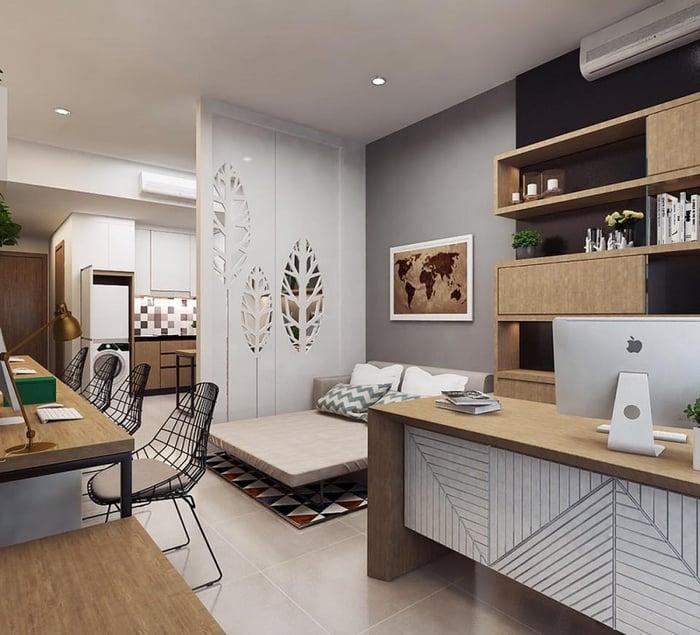 Thiết Kế Căn Hộ Officetel- Xu Hướng Nhà Ở Mới Nhất Hiện Nay