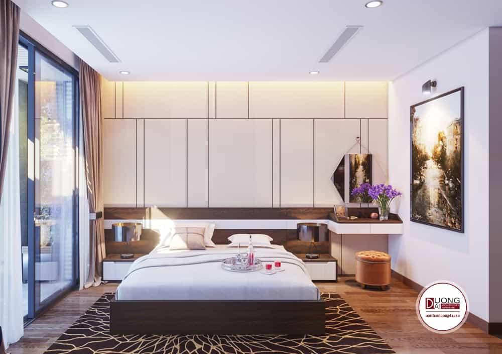 Phòng ngủ Master cá tính có không gian rộng mở