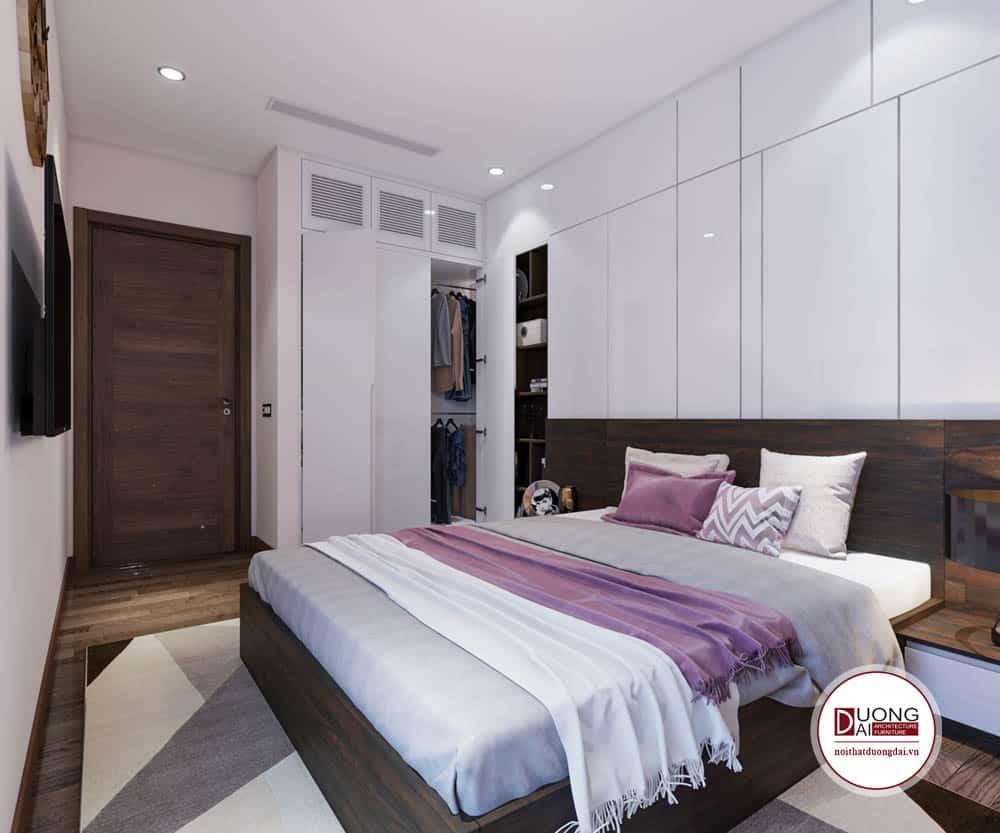Phòng ngủ cho bé nữ tính và trang nhã