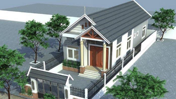 Thiết Kế Nhà Cấp 4 5x30 | Giải Pháp Xây Nhà Cấp 4 150m2 Đẹp