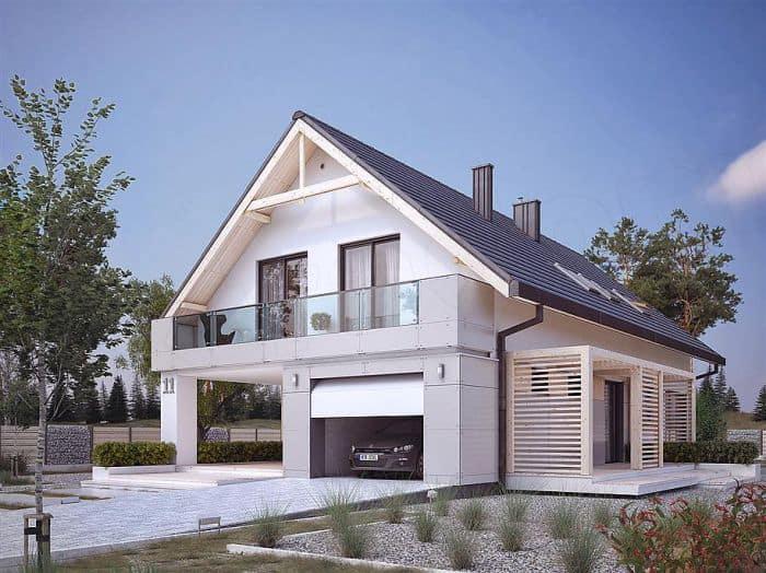 Biệt thự 1 tầng đẹp với thiết kế độc đáo và hiện đại
