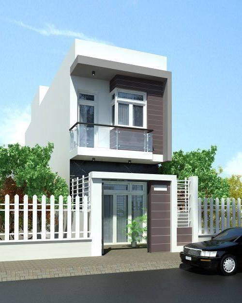 Nhà 2 tầng có gác lửng tăng diện tích sử dụng