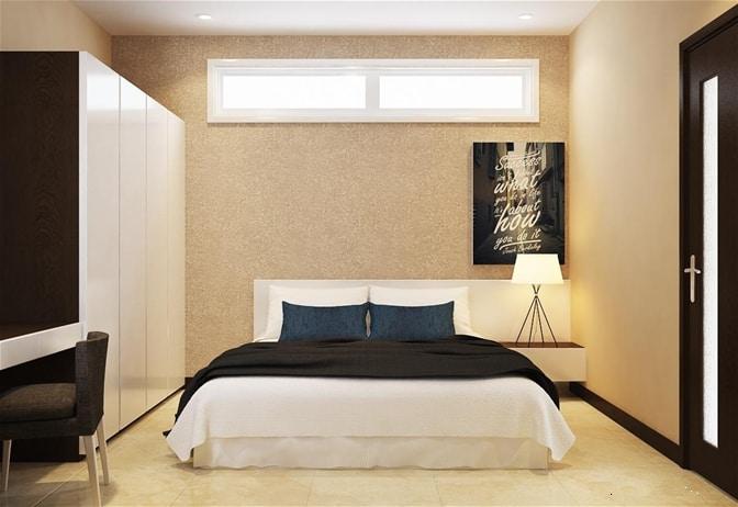 Phòng ngủ tối giản, ấm áp và yên tĩnh mang lại giấc ngủ ngon