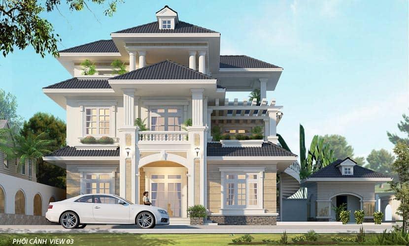 thiết kế nhà vườn 200m2