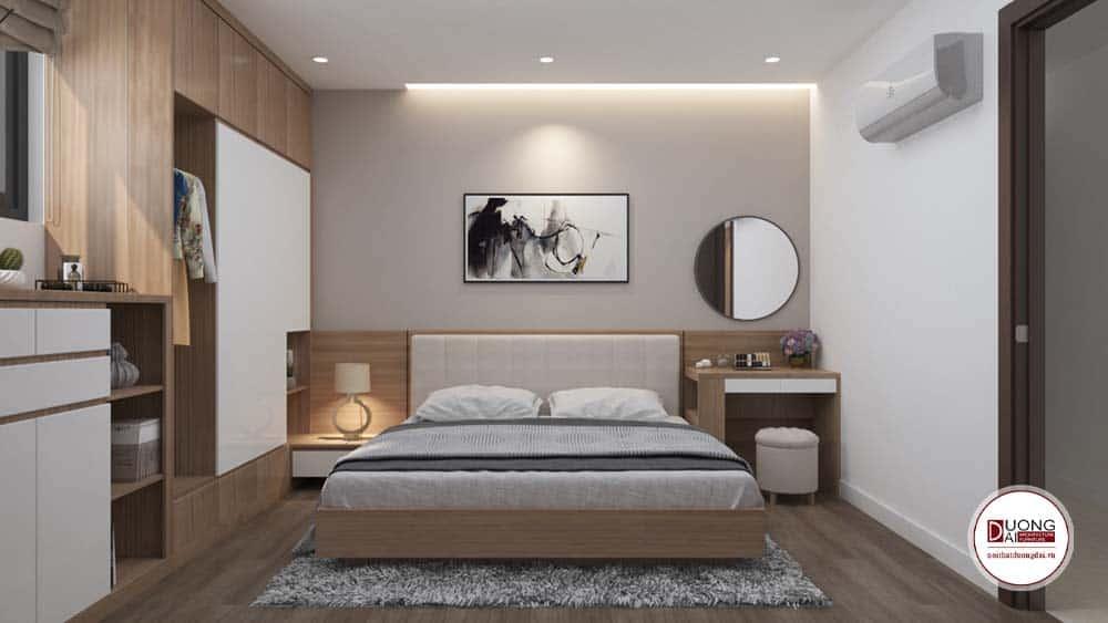 Phòng ngủ Master đầy tiện nghi và dễ chịu