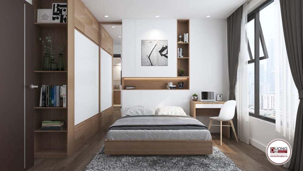 Thiết kế phòng ngủ cho bé trai sang trọng