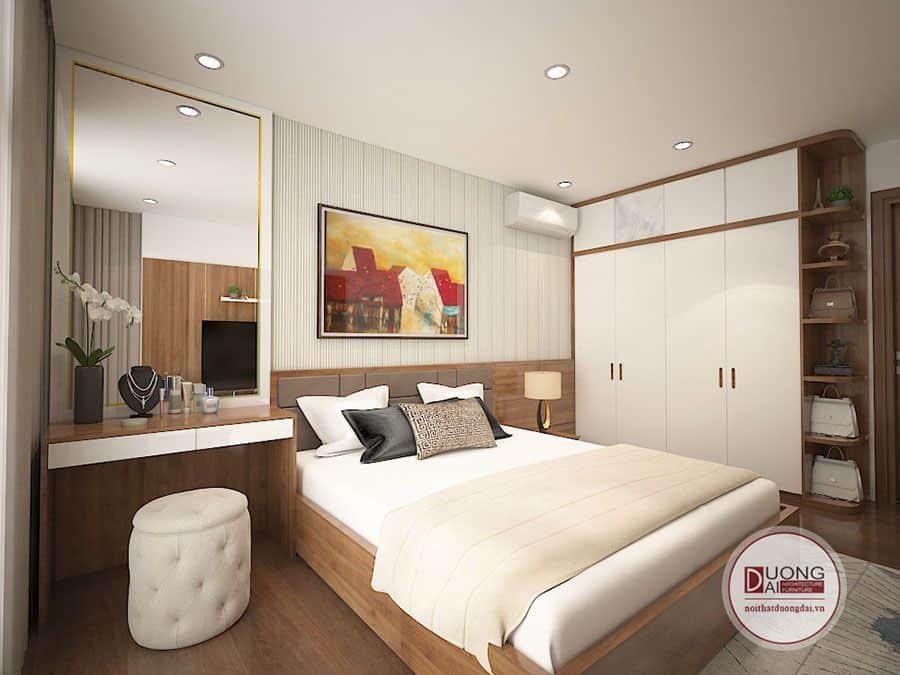 Phòng ngủ Master trang nhã và đầy thư giãn của gia chủ