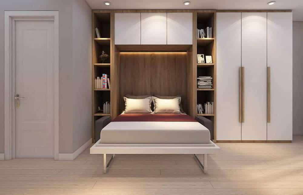 Giường ngủ thông minh của phòng ngủ thứ 2