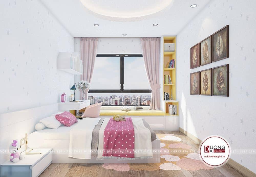 Thiết kế phòng ngủ cho bé yêu đáng yêu và ngộ nghĩnh