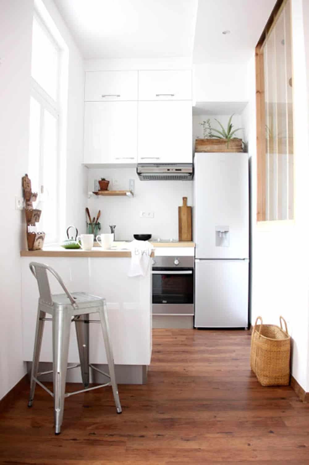 Thiết kế nội thất nhà chung cư 30m2 siêu tiện nghi