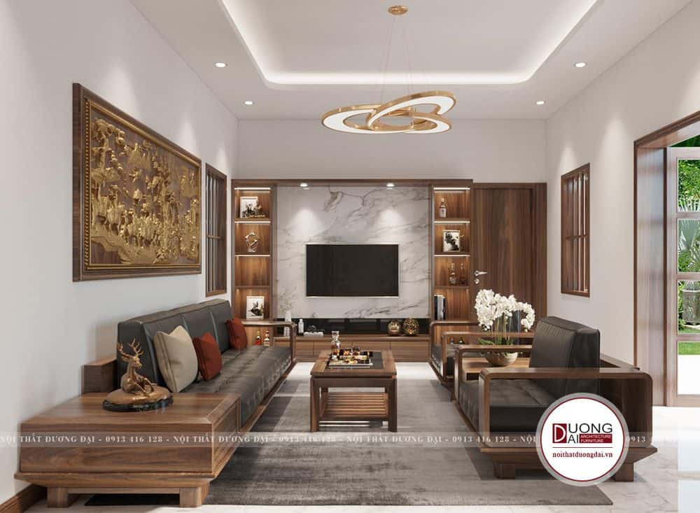 Thiết kế nội thất tại Bắc Ninh của chú Văn