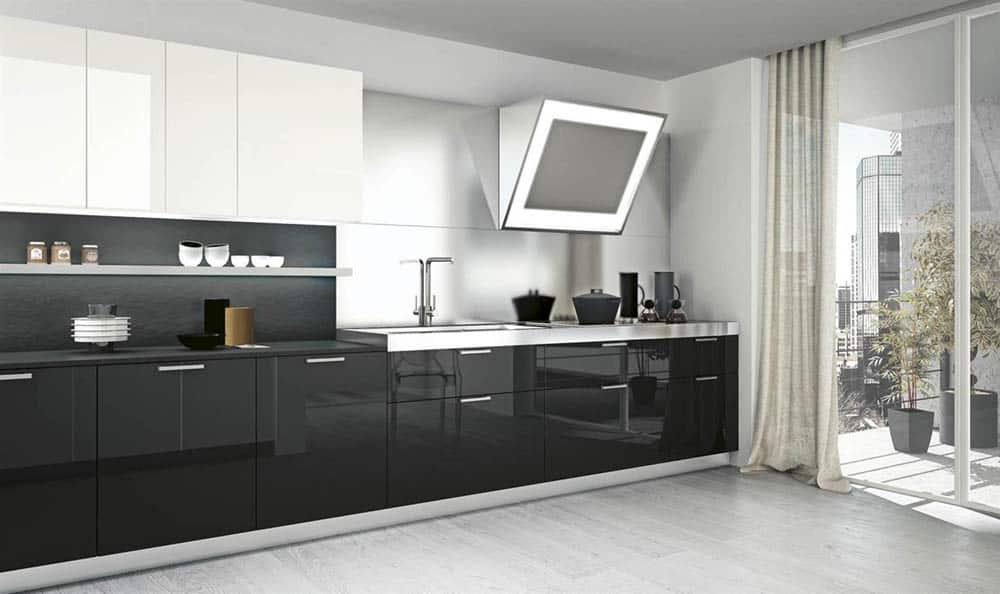 Tủ picomat màu đen siêu đẹp và có độ bền cao