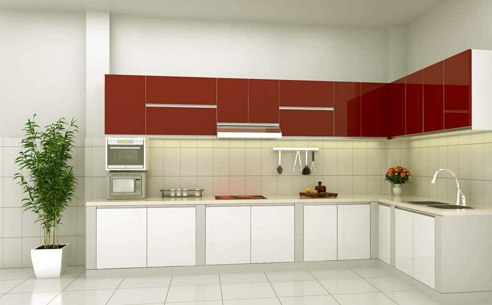 Thiết kế kệ nhà bếp sang trọng và tiện nghi