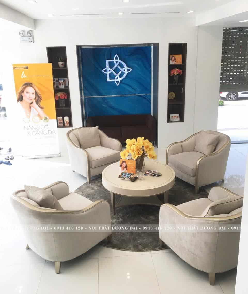 Bộ Sofa Đơn | Bàn Giao Cho Viện Thẩm Mỹ Daimec Ở Hải Phòng