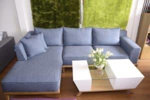 Bộ Sofa Nỉ Phòng Khách | Bàn Giao Chị Nhung Ở Chung Cư Homeland