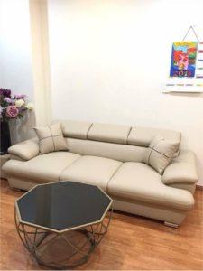 Mẫu Ghế Sofa Da Đẹp | Bàn Giao Cho Chú Hải Ở Hà Nội