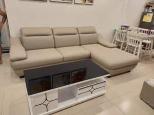 Ghế Sofa Da Hiện Đại | Bàn Giao Cho Chị Hoa Ở Bắc Giang