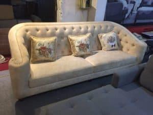 Ghế Sofa Nỉ Cao Cấp | Bàn Giao Cho Chị Hân Ở Tây Hồ Hà Nội