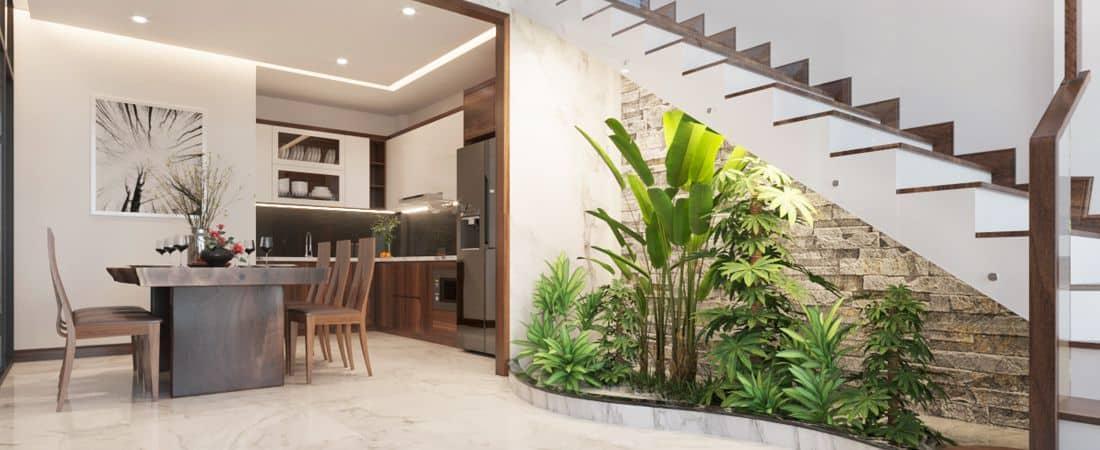 Thiết kế nội thất nhà ống 5 tầng đẹp và hiện đại