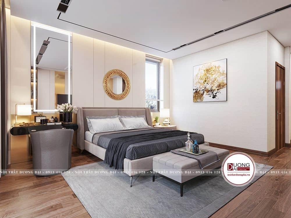 Không gian phòng ngủ master ấn tượng và đẹp mắt