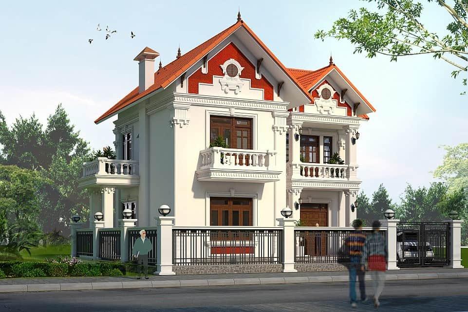 Thiết kế có 1 tiền sảnh chính rộng rộng 3.2m