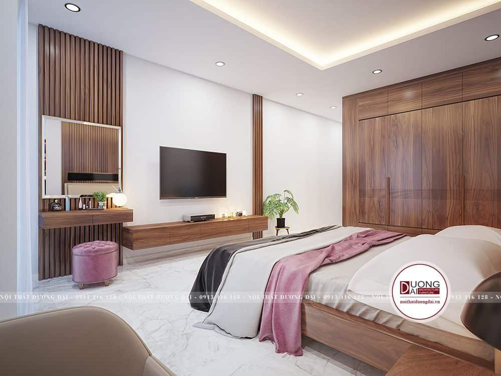 Giải pháp thiết kế phòng ngủ ấn tượng và tối ưu diện tích