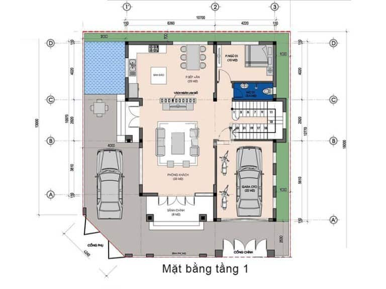 Biệt Thự 9x10m Phong Cách Tân Cổ Điển Nâng Tầm Đẳng Cấp