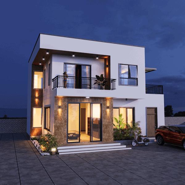 • Ý tưởng thiết kế nội thất sang trọng biệt thự 9x10m