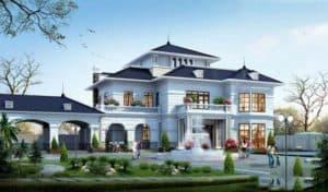 Biệt Thự Nhà Vườn 3 Tầng Đẹp |Tư Vấn Trọn Gói Nội, Ngoại Thất