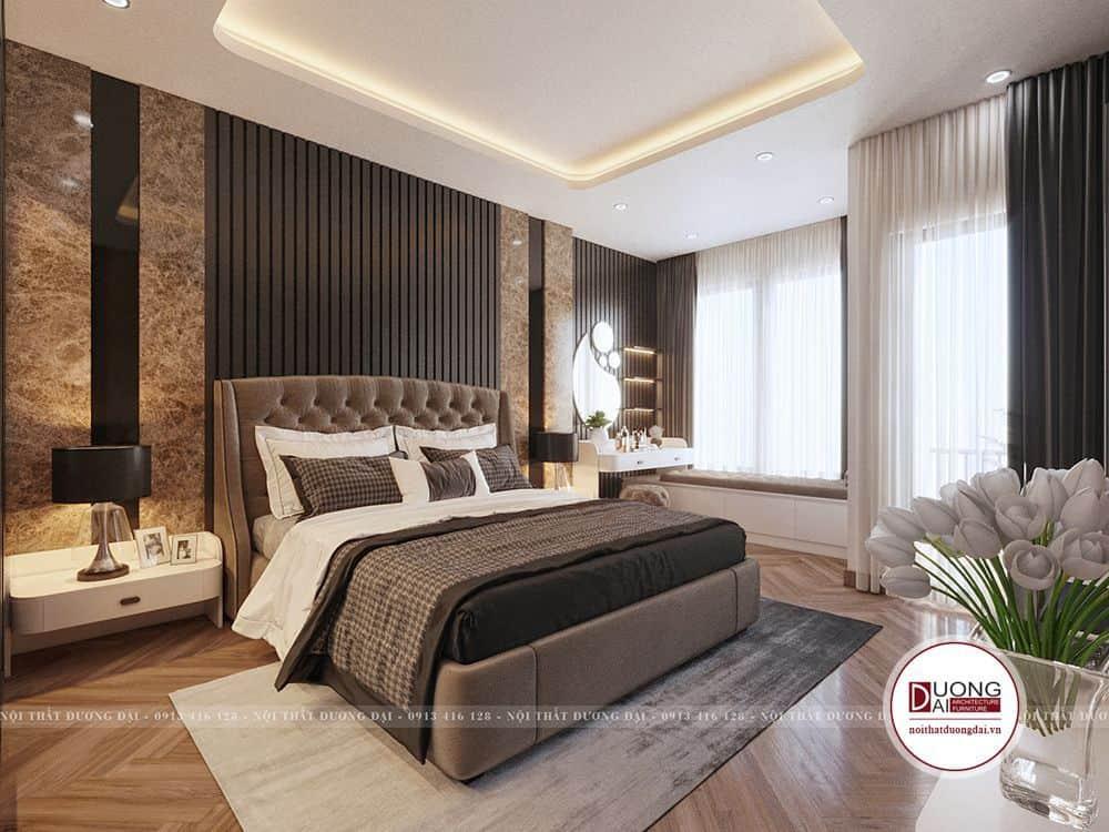 Ánh sáng và không gian đảm bảo riêng tư và cho giấc ngủ tuyệt vời