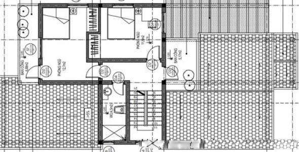 thiết kế nhà vườn 1.5 tầng