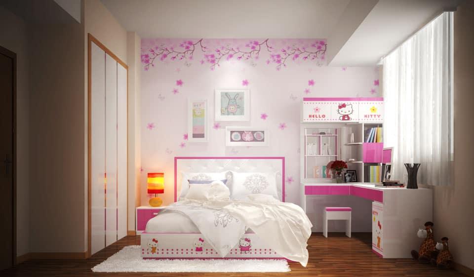 mẫu biệt thự 1 tầng 5 phòng ngủ