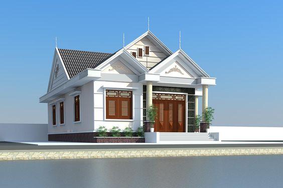 Mẫu Nhà 1 tầng đẹp 2020 | 20+ Mẫu Nhà 1 Tầng Đẹp Nhất